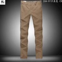 Quality Wholesale hottestNewly mens fashionable B-urberry leisure designer trousers of top quality wholesale