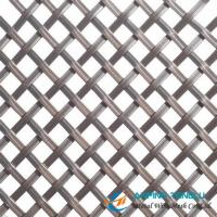 Cheap Flat Wire Decorative Metal Mesh for Interior/External Building Design for sale
