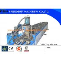 China 6 Tons Manual Cable Tray Roll Forming Machine 22 KW With 24 Forming Stations on sale