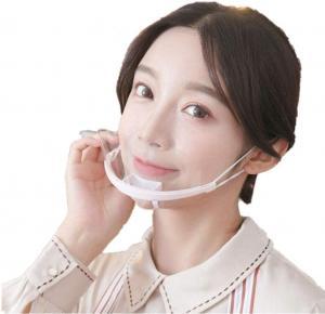 Quality Lightweight Droplets Prevention Transparent Plastic Face Mask wholesale