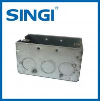 Cheap Anti corrosion metallic Electrical Junction Boxes For Electrical Wire for sale