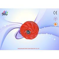 Buy cheap Grade A05 Material Part of Impeller for Sand Gravel Pump Inlet Diameter 8 Inch from wholesalers