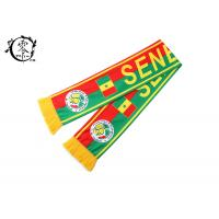 Quality Polyester Fleece Soccer Sublimation Scarf  Winter Warm World Cup wholesale