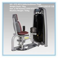 Quality Adductor Inner Thigh Workout Machine , Commercial Cardio Fitness Equipment wholesale