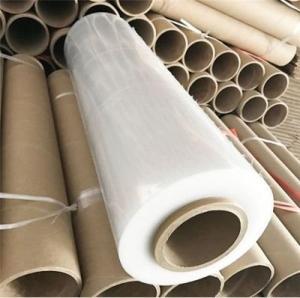 China Self Adhesive Waterproof Plastic Shrink Wrap Machine Roll Stretch Film Plastic on sale