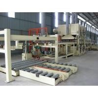 Quality Full Automatic MDF Production Line PLC Control Panel Thickness 6 - 40 MM wholesale