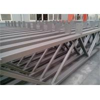Quality Q235b Light Square Tubing Trusses , Grey Metal Structural Beams For Surport wholesale
