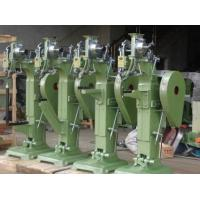 Quality 3/4HP Steel Nail Machine , Luggage Rivet Machine For Trolley Bag Production wholesale