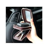 China Leather multi-function key chain trend car bag male small key storage bags on sale