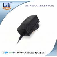 Cheap Wall Mount Switching Power Adapter Black AU Plug 400mA Max Input Current for sale