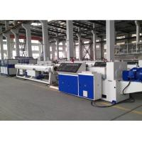 Quality UPVC / Pvc Pipe Production Line , Full Automatic Plastic Pipe Making Machine wholesale