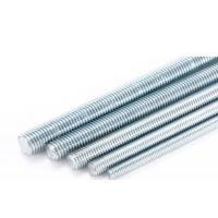 Quality M4-M36 HDG Stainless Steel Threaded Rod Grade 4.8 Carbon Steel Material wholesale