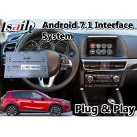 China Lsailt Android Car Video Interface for Mazda CX-5 2015-2017 Model With GPS Navigation Wireless Carplay 32GB ROM on sale