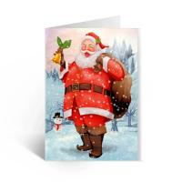 Quality Happy Birthday Lenticular Greeting Cards / Colored 3D Lenticular Card wholesale