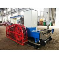 China High Efficiency Electric Grout Pump , Three Cylinder Horizontal Plunger Type Pump on sale