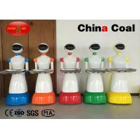 Quality Restaurant Intelligent Dishes Remote Control Robot With Rechargeable Battery wholesale