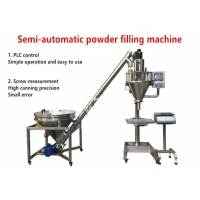 Quality 120ml Semi Automatic Powder Filling Machine Auger 0.8kw Small Dose wholesale