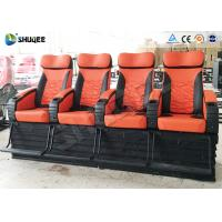 Quality Lifelike Electric / Pneumatic System 4D Movie Theater Popular For Arcade wholesale