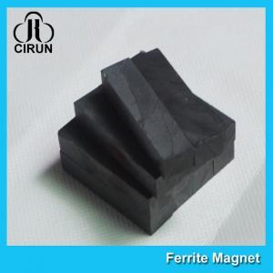 Quality Industrial Hard Ferrite Powerful Block Magnets , Ceramic Ferrite Magnets wholesale
