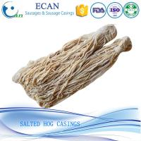 China 20Years Warranty Hunan Sausage Hog Casings Factory Supplier Natural Sausage Casings on sale