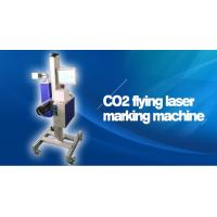 Quality 30W 60W CO2 Flying Laser Marking Machine / Co2 Laser Engraving Machine wholesale