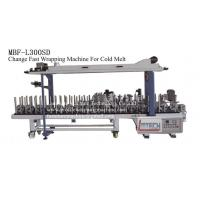 Quality MBF-L300SD fast change profile wrapping machine (cold melt) wholesale