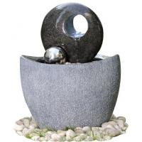 Quality Polished Finishing Contemporary Sphere Garden Fountain With Lights wholesale