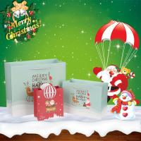 Quality Spot Market Wholesale Eco-Friendly Christmas Festival Custom Paper Gift Bag For Packaging wholesale