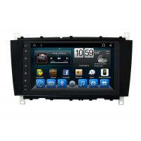 Quality Android Mercedes Benz C - Class Double Din Car Dvd Player GPS Navigation Head Unit wholesale