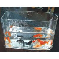 Quality 5 / 10 Gallon Custom Acrylic Fish Tank With Simple Arch For Home wholesale