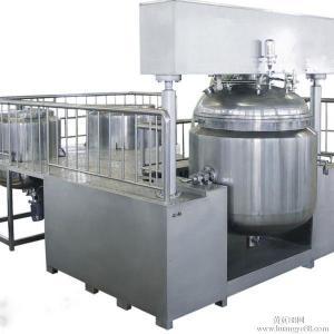Quality 30L Cosmetic Vacuum Emulsifying Mixer With Vacuum Pump , Emulsifying Blender wholesale