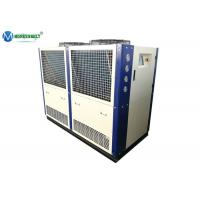 Quality Food Processing 25 HP -5 C Copeland Compressor Air Cooled Cooling Chiller Machine wholesale