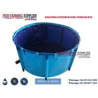 Cheap China PVC Collapsible Fish Pond For Fish Farm for sale