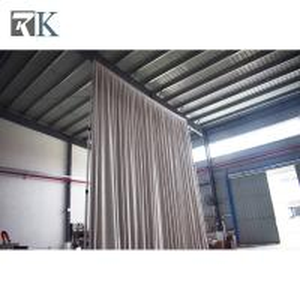 China pipe drape square sample design stage backdrop portable stage backdrops good price white velvet drapery on sale