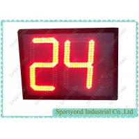 China Online basketball shot clock for sale with 24 seconds timer supplier on sale