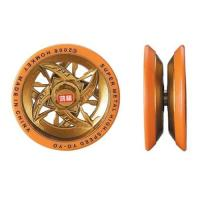 Quality Super metal Yoyo Die-casting body with soft rings Ball bearing Patent design wholesale