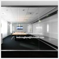 China Fixed or Movable Glass Office Partitions on sale