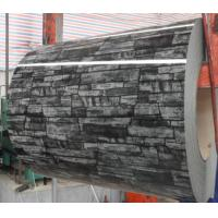 China Brick Stone Grain Prepainted Color Coated Steel Coil High Around 90 Degree Gloss below 1250mm width on sale