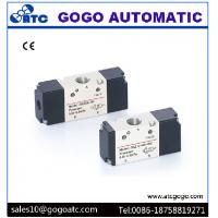 China Pneumatic Air Control Valve 1/8 Port , Lead Wire / Terminal Type 3 Way Air Valve on sale