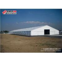 Quality Waterproof Marquee Party Tent , Outdoor Wedding Tents For Rent 3m - 60m Width wholesale