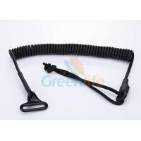 Buy cheap OEM Expanding PU Coated Tactical Pistol Lanyard String Loop Spring Sling from wholesalers