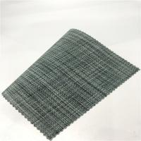 China Flame Retardant  PVC woven vinyl   mesh fabric/pvc dipped mesh fabric as sofa material on sale