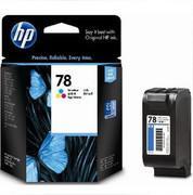 Quality Hp 78 (C6578D) original  tri-color inkjet cartridge ink cartridge wholesale