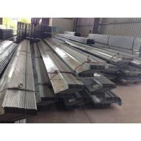 Quality 1.912 To 43.588kg / M Galvanised Steel Purlins Lipped Channel Steel Material wholesale