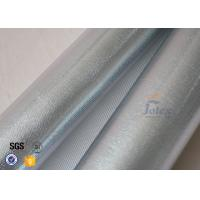 Quality Reflective Aluminium Foil Silver Coated High Silica Glass Fiber 700gsm 0.8mm wholesale