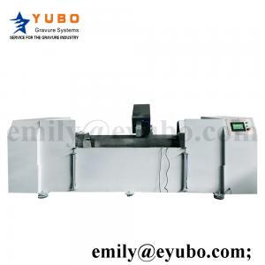 China Double Curve (S&X) Servo Chrome Polishing Machine gravure printing roller plate making pre-press on sale