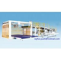 China Double Layer Corrugated Cardboard Production Line / Basket Down Stacker Fit Duplex Cut Off on sale