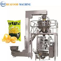 Quality 3kw Popcorn Packing Machine / Industrial Food Packaging Equipment 1800*1250*1780mm wholesale