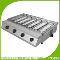 Quality High quality commercial stainless steel gas smokeless BBQ grill wholesale