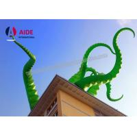Quality Inflatable Halloween Decorations , Giant Inflatable Octopus For Building wholesale